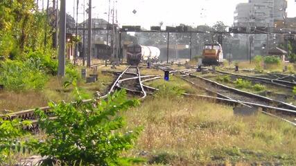 06 012 с товарен влак за Бенковски