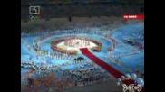 Навлизането На Знамената В Стадиона И Радостта На Зрителите 24.08.08