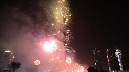 Посрещането на 2012 година в Дубай