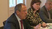 Austria: Lavrov meets Syrian opposition representatives in Vienna