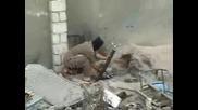 Терорист се взривява