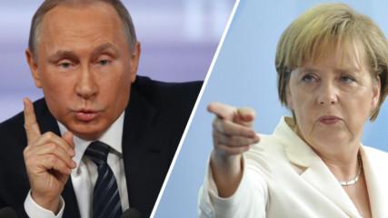 Меркел в словесна война с Путин
