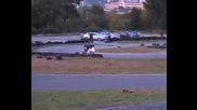 Хаос на картинг пистата - Плевен
