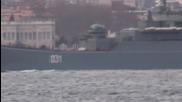 Turkey: Russian ship escorted through Bosphorus by Turkish coast guard