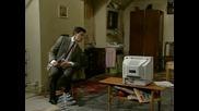 Mr Bean - Tv Aerial -смях!!