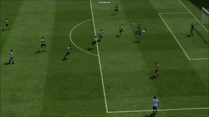 Ето това е отборна игра ! - Fifa 13