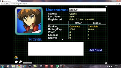 Yu - Gi - Oh (dueling Network) - Епизод 1 Началото