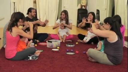 Страшна Пародия на Gangam Style с майки и бебета