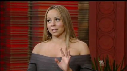 Mariah Carey Live with Regis & Kelly Interview
