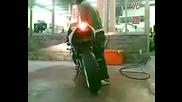 Yamaha R1 Fire