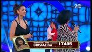 Йорданка Христова и Кали - VIP Brother финал (17.11.2014г.)