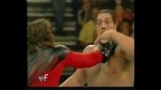 WWF Big Show vs. Kane (NO DQ) - Rebellion 1999 **HQ**