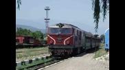 77005-7 пристигна на гара Септември.