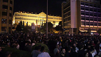 Lebanon: Thousands protest tax hikes and austerity measures in Beirut