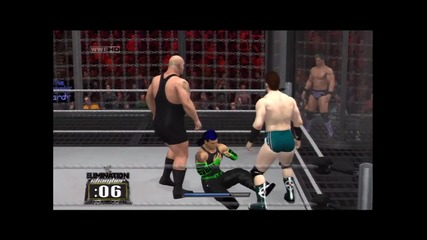 Elimination Chamber - Jeff Hardy vs Big Show vs Hhh vs Sheamus vs Chris Jericho vs Kofi Kingston