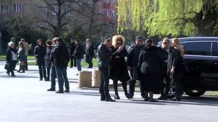 Близки и приятели се сбогуваха с Павел Чернев