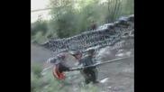 Компилация страхотни падания с мотори .. (смях)