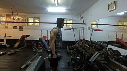 Тренировка А, с Никола Томов / Започвам cut /