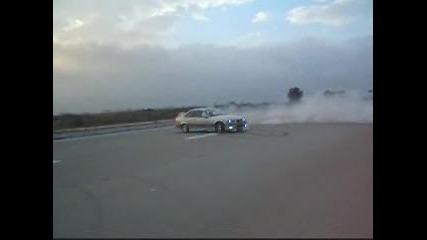 Bmw e36 ///m Power - burnout