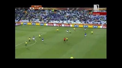 Япония - Камерун 14.06.2010 второ полувреме част 1