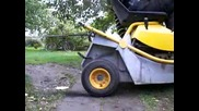 4, 5hp lawn tractor burnout