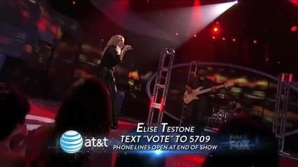 Elise Testone- Whole Lotta Love - Top 9 - American Idol Season 11