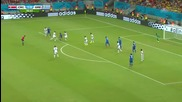 Коста Рика на 1/4 финал на Световното! Коста Рика 1:1 Гърция (5:3 след дузпи) 29.06.2014