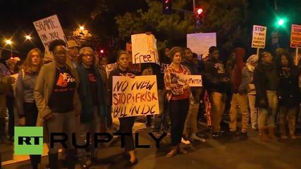 USA: Black Lives Matter protesters rage over Bowser bill
