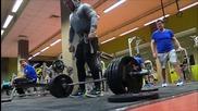 180 кг мъртва тяга. Нов личен рекорд