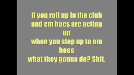 Lil Jon-what You Gonna Do Vbox7