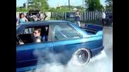 Bmw E30 M3 Turbo Burnout