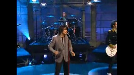The Jonas Brothers - S.o.s In Jay Leno 01.18.2008 [ With Ryan Sheckler ]
