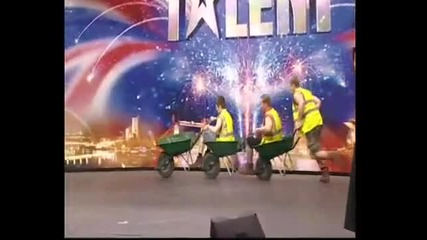 Земеделските производители - Britains Got Talent 2009