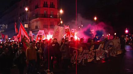 France: Anti-immigration 'Paris Pride' hold torchlit procession in capital
