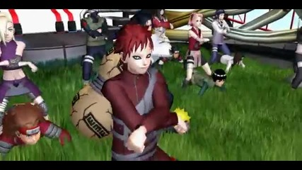 [naruto Shippuden] Gangnam Style (konoha village dancing) Motion Update- - Youtube