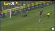 Голът на Божинов за Парма - Cagliari 1-1 Parma