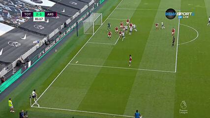 Тотнъм е напред след нов гаф в защитата на Арсенал