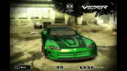 My Cars in Nfs Most Wanted