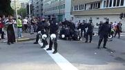 Belgium: Scuffles erupt at anti-lockdown protest Brussels