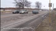 Дупки на пътя в Индиана