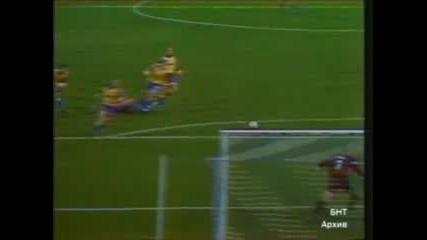 Левски - Брьондби 1:0 (саша Симонович)