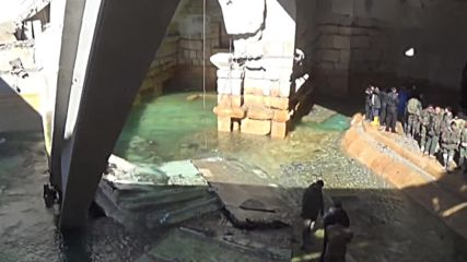 Syria: SAA recaptures vital water supply in Wadi Barada
