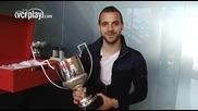 Роберто Солдадо получи Trofeo Zarra - наградата за най-резултатен испанец в Примера дивисион!!