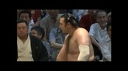 Двете победи на Калоян Махлянов - Котоошу на турнира Нагоя башьо