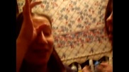 kirsty brown and shauni try the cinnamon challenge