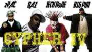 2pac - Cypher 4 Ft. Daz Big Pun Tech N9ne New 2016