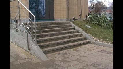 Оли и Кикфлип на 7 стълби