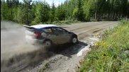 Това беше бързо - Евгений Новиков Flat Out в Рали Финландия Wrc