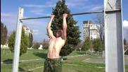 Street fitness-български войник