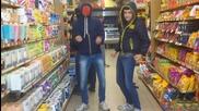 Българи избухват в супермакет стил Harlem Shake